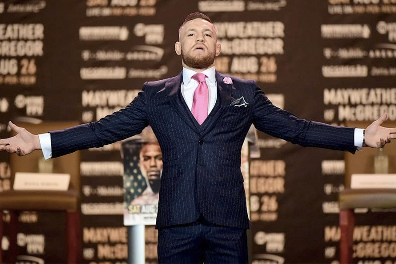 Nu kan du købe et Conor McGregor 'Fuck You' jakkesæt