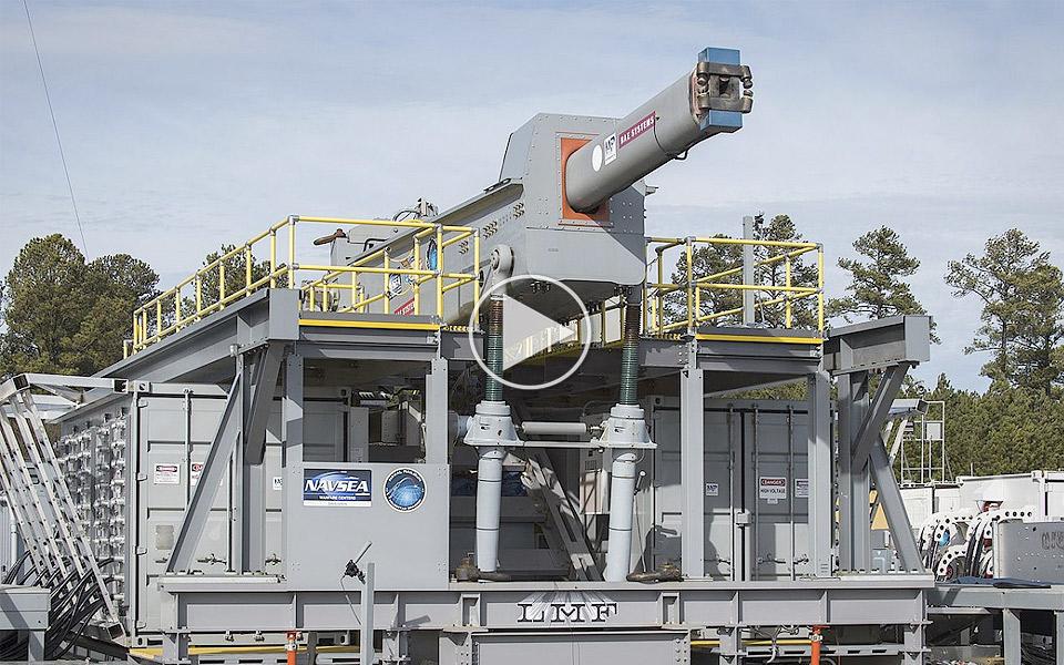 USA testaffyrer deres Railgun for første gang