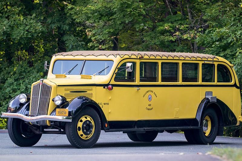 1937 White Yellowstone Park Tour Bus