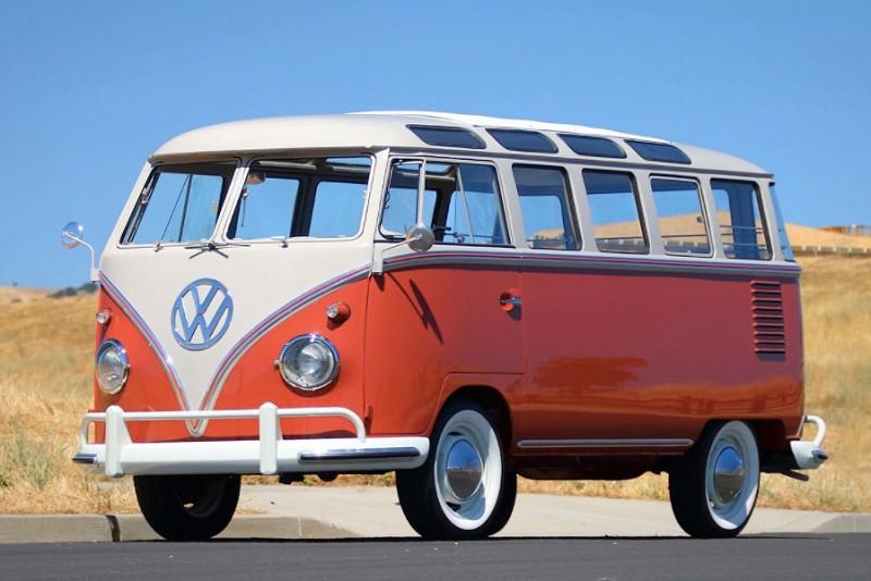 1959 Volkswagen Deluxe 23-Window Bus
