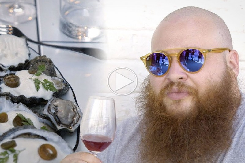 Action Bronson drikker vin i Paris