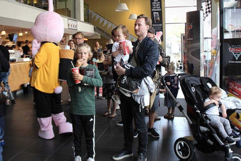 Duracell-kaninen og Mini-Mandesager ser Biler 3 i biografen