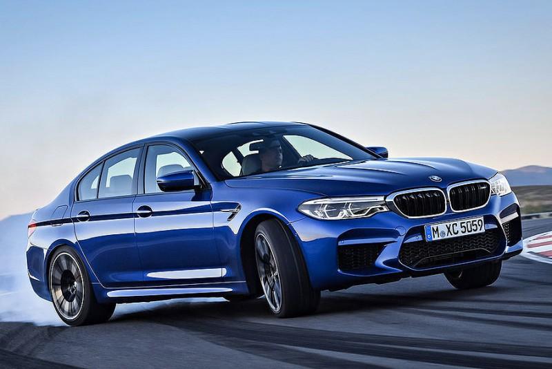 Her er den splinternye BMW M5