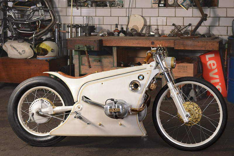 Kingston Custom BMW R80RT White Phantom