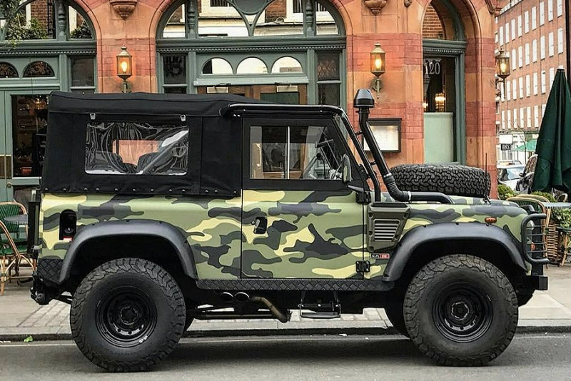 Land Rover Defender Tweaked Military Edition