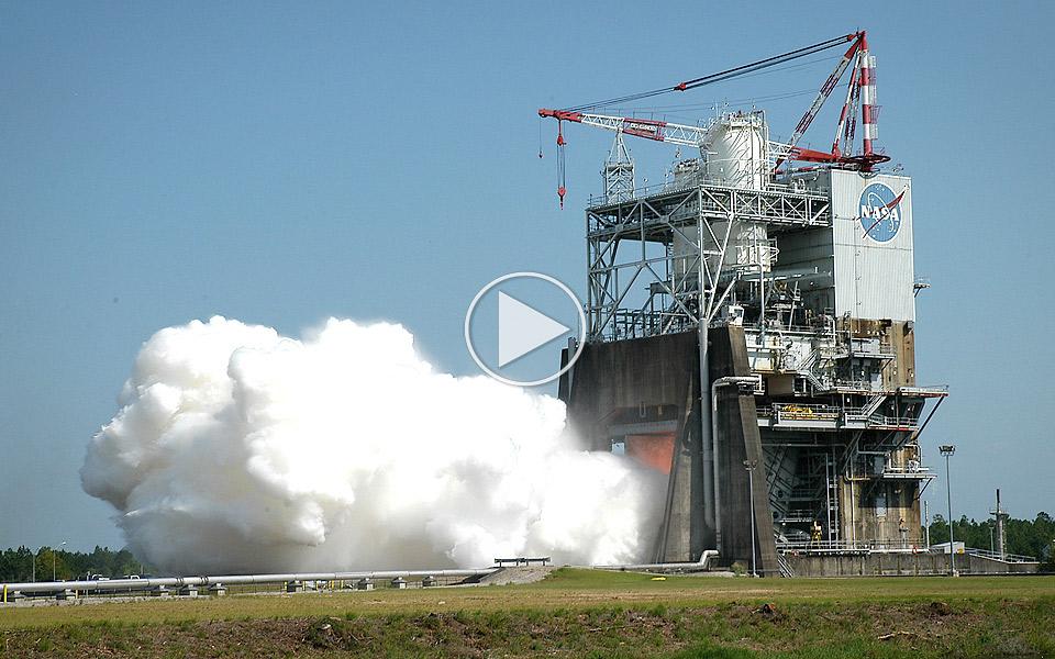 NASA tester raketmotoren, som skal tage os helt til det ydre rum