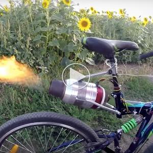 Motor en jet man chupar