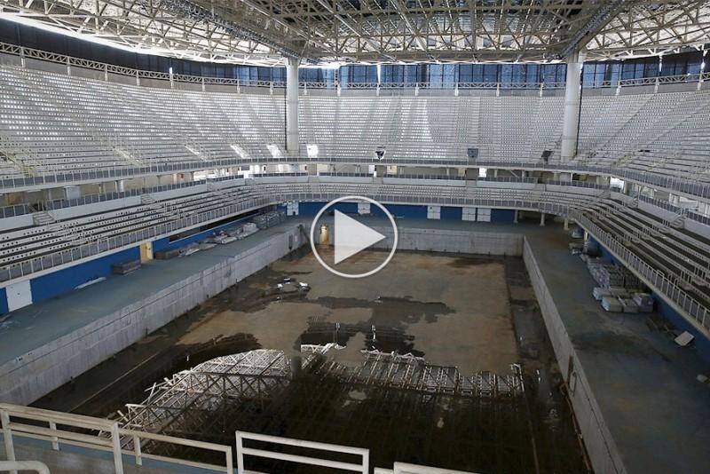 Se hvordan der ser ud i Rio kun et år efter OL