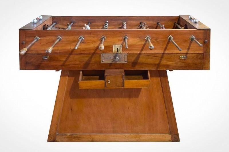 Italiensk bordfodboldbord fra 1930'erne