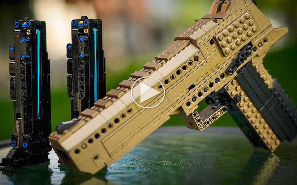 LEGO Desert Eagle