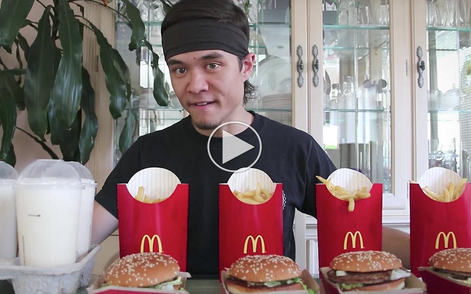 Matt Stonie prøver den umulige Big Mac Challenge