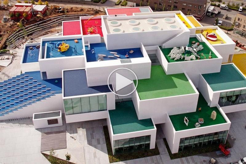 Nu kan du besøge LEGO House i Billund