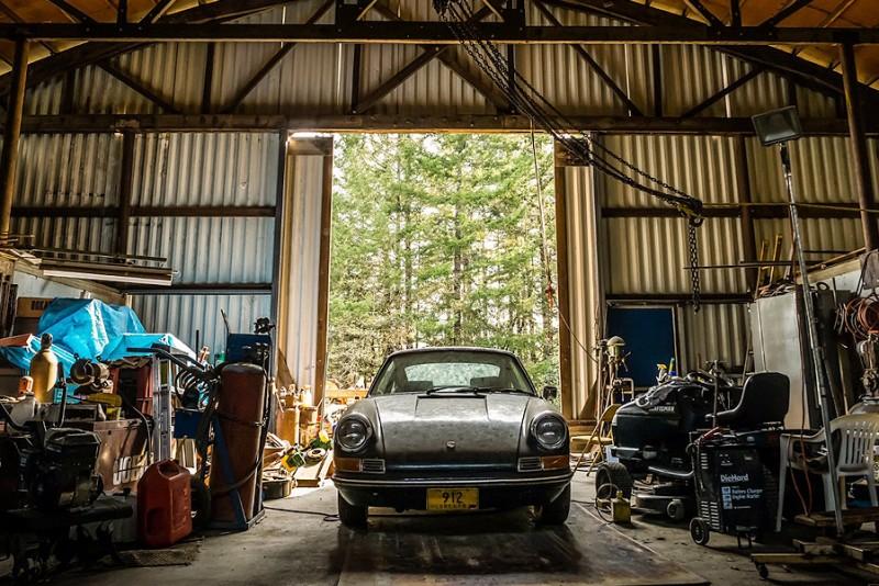 Porsche 912 rustede væk i en lade i 18 år, men nu er den et rullende mesterværk