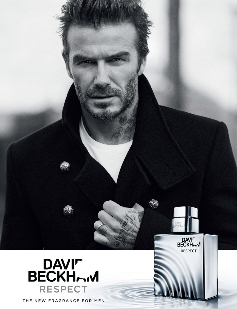 David Beckham er sej, og hans nye duftevand kræver respekt