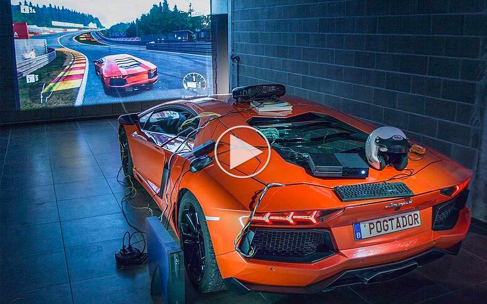 En Lamborghini Aventador er den ultimative Xbox controller