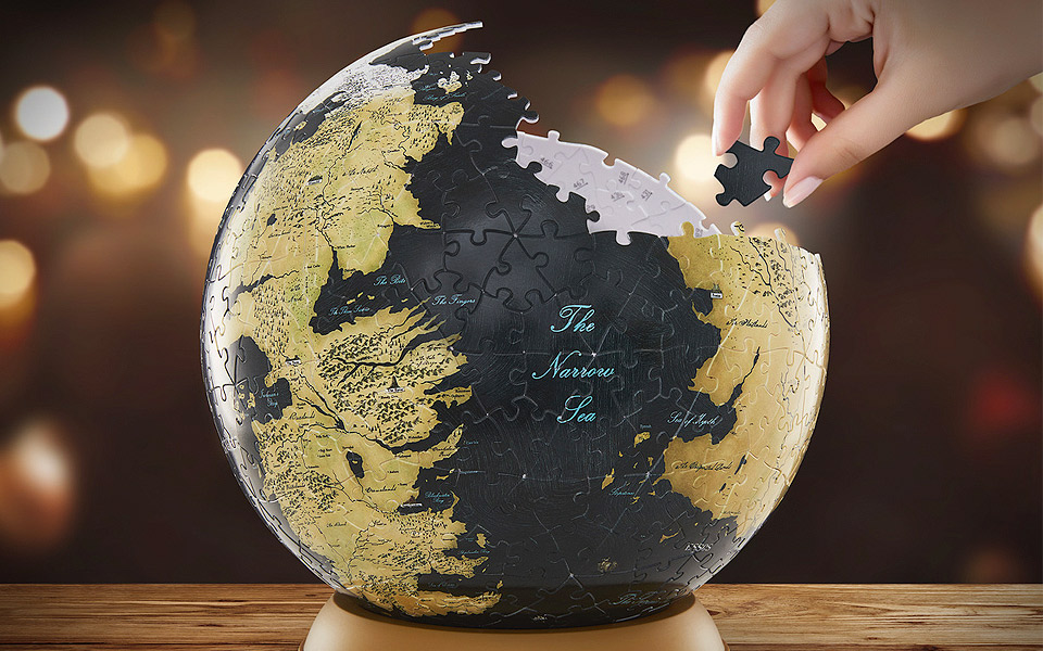 Game of Thrones Globe Puslespil