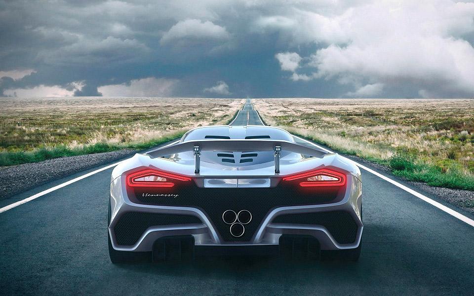 Hennessey teaser deres nye Venom F5 superbil
