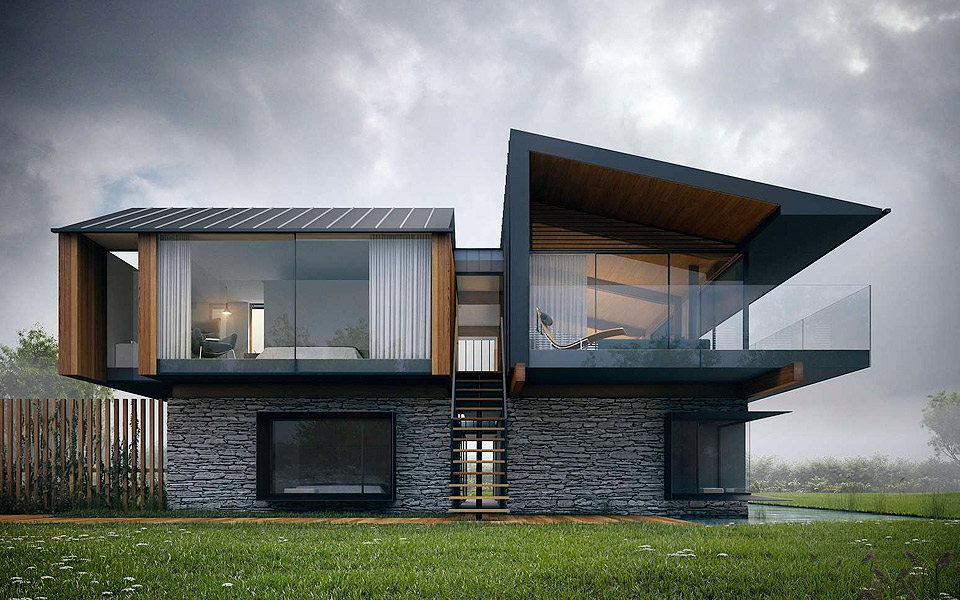 Hyde + Hyde Architecture Silver House