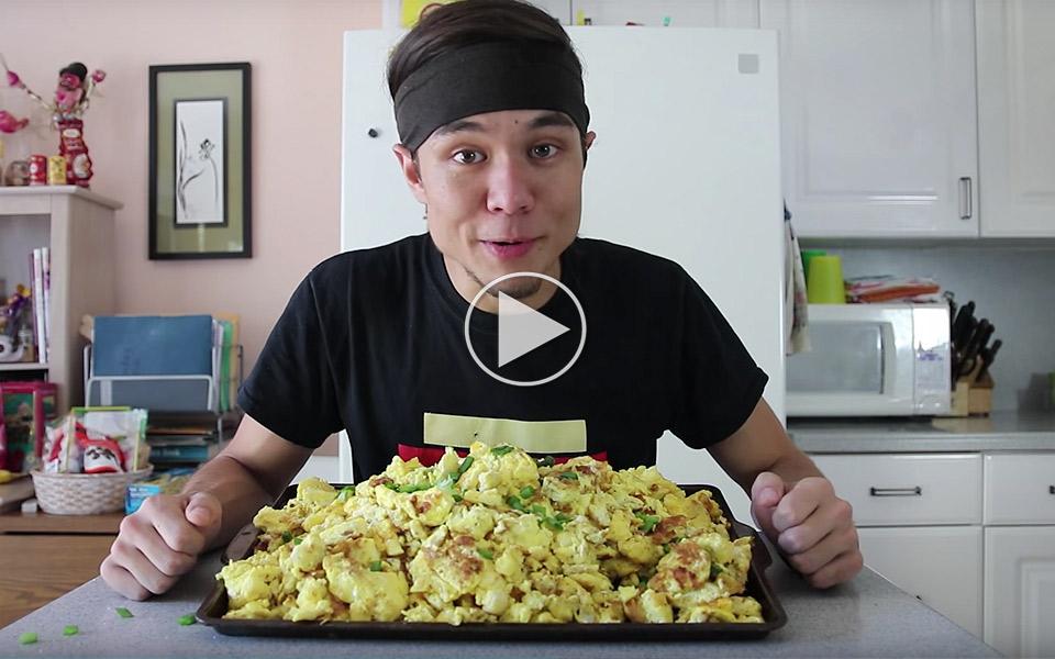 Matt Stonie spiser 50 æg skræmmende hurtigt