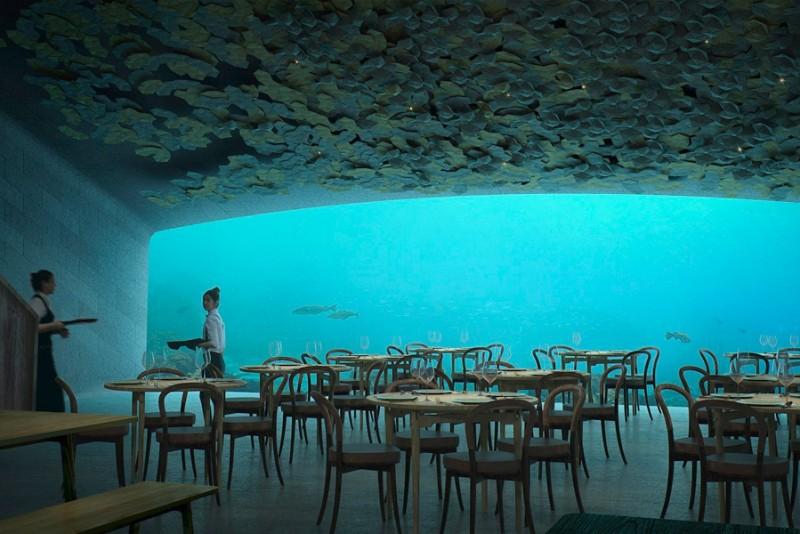 Norge bygger europas første undervands-restaurant