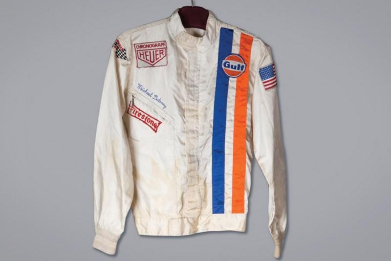 Nu kan du eje Steve McQueens køredragt fra Le Mans
