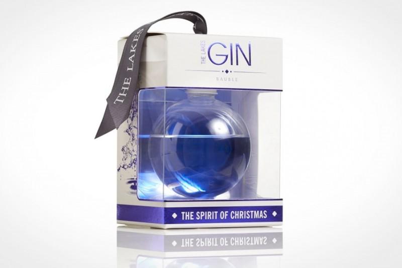Nu kan du hænge gin på juletræet