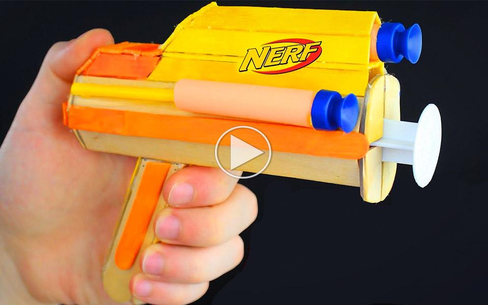 Sådan laver du din egen NERF Blaster