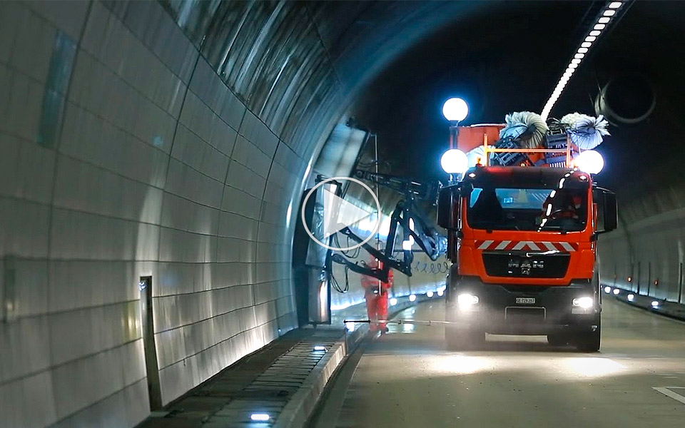 Sådan renser man en tunnel