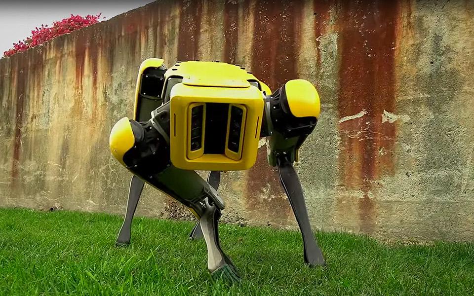 Boston Dynamics viser den nye SpotMini