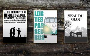 Citatplakat.dk hænger grineren kunst på din væg