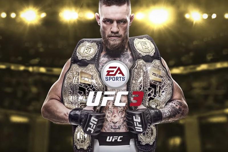 Conor McGregor er frontmanden i første trailer til EA Sports UFC 3