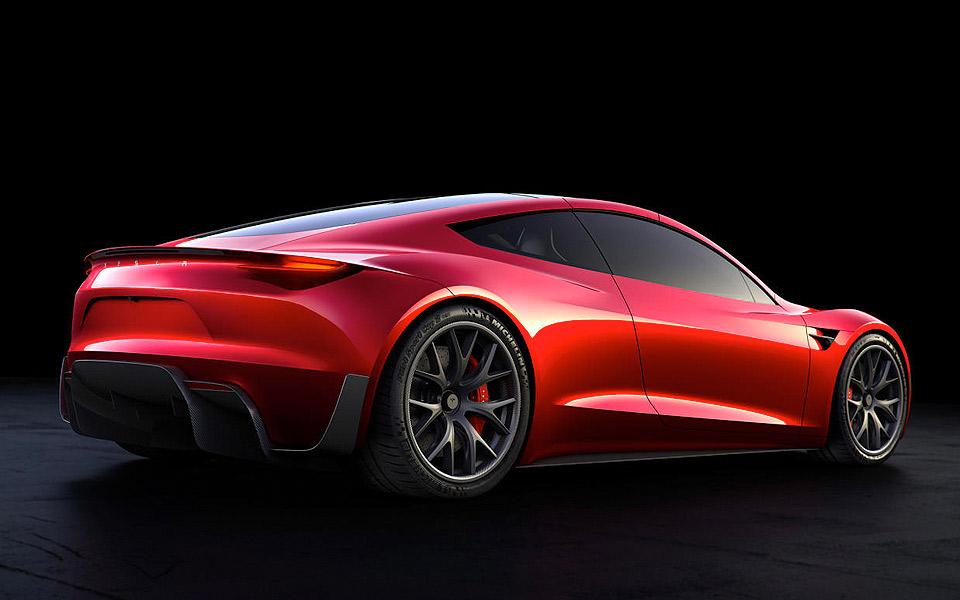 Den nye Tesla Roadster er verdens hurtigste serieproducerede bil