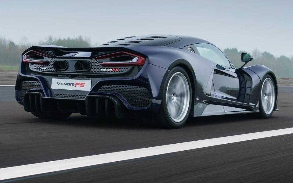 Hennessey har nu officielt præsenteret Venom F5