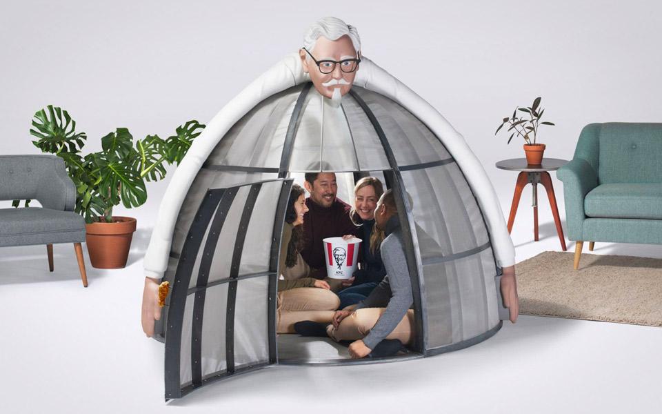KFC Internet Escape Pod