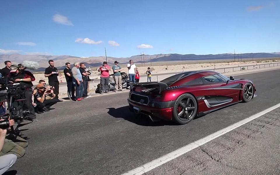 Koenigsegg Agera RS er nu verdens hurtigste produktionsbil