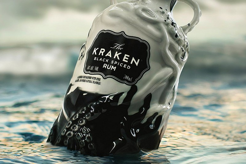 Kraken Rum Limited Edition Ceramic Bottle