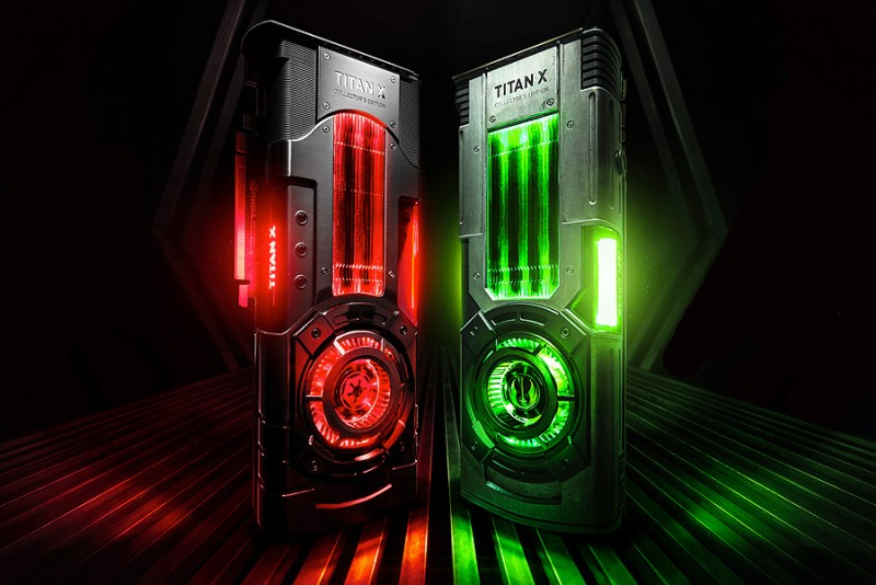 Light And Dark-Side Collector's Edition NVIDIA TITAN Xp