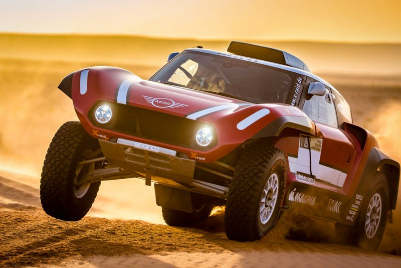 Mini John Cooper Works Buggy er klar til Dakar Rally