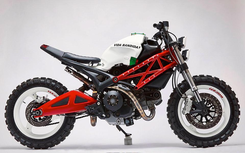 Vida Bandida Ducati Monster 696