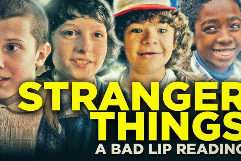 Bad Lip Reading tager pis på Stranger Things