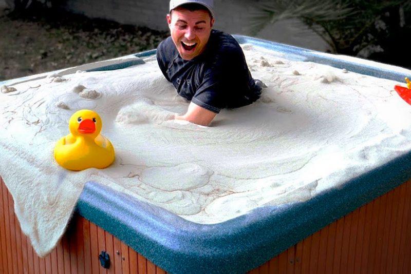 NASA-ingeniør laver et magisk sandbad