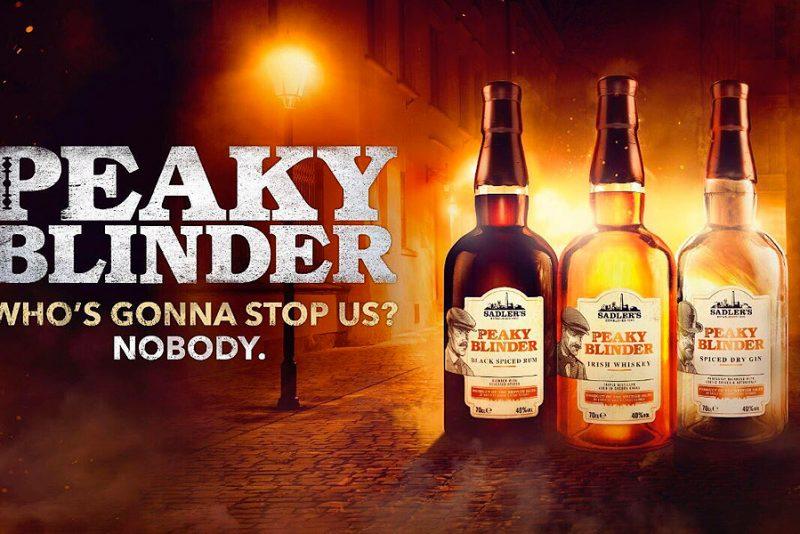 """Nu kan du få """"foooking"""" Peaky Blinders whiskey, rom og gin"""