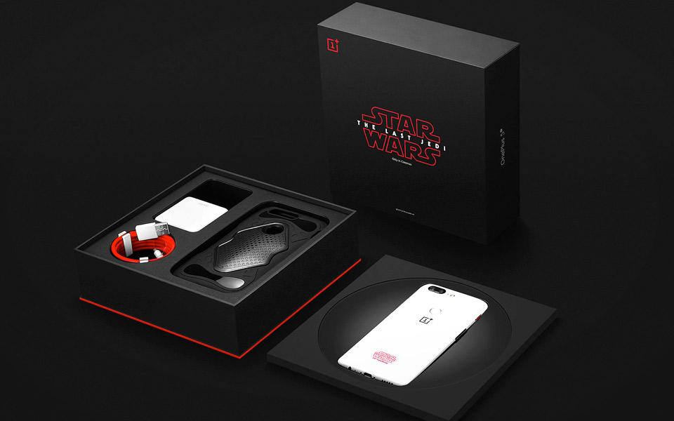 Nu kan du købe OnePlus 5T Star Wars Limited Edition