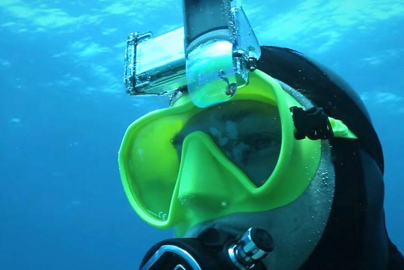 Thalatoo Māoï - verdens første Head-Up display til dykning