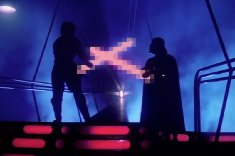 Unødvendig censur i Star Wars er ret sjovt