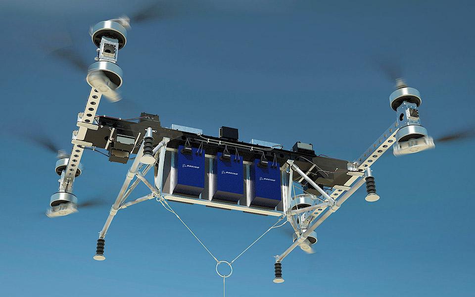 Boeings nye drone løfter 225 kilo uden at få sved på panden