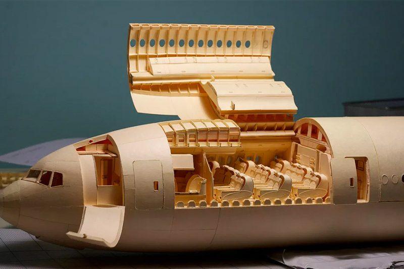 Dedikeret fyr bruger 10 år på at bygge det ultimative papirfly
