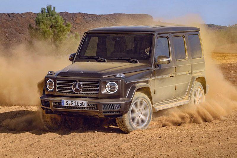 Den spritnye Mercedes-Benz G-Klasse er ankommet