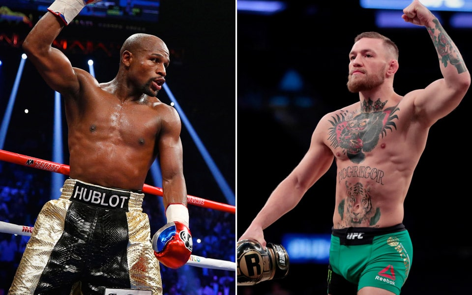 Floyd Mayweather udfordrer Conor McGregor i The Octagon