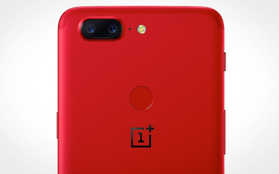 OnePlus er klar med en 5T i farven Lava Red